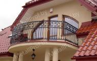 MetallProf.by. Продукция из металла и стекла. Балконы, перила и ограждения.