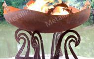 MetallProf.by. Продукция из металла и стекла. Кострища, чаши для костра.