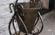 MetallProf.by. Продукция из металла и стекла. Мусорные урны.