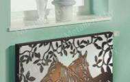 MetallProf.by. Продукция из металла и стекла. Зашивки радиаторов, экраны для батареи.