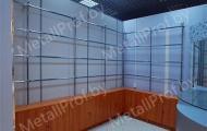 MetallProf.by. Продукция из металла и стекла. Мебель для торговых площадей.