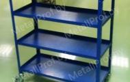 MetallProf.by. Продукция из металла и стекла. Стеллажи и держатели.