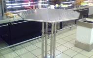 MetallProf.by. Продукция из металла и стекла. Столы и стулья для торговых помещений.