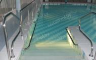 MetallProf.by. Продукция из металла и стекла. Лестницы для бассейнов.
