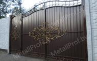 MetallProf.by. Продукция из металла и стекла. Ворота.