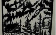 MetallProf.by. Продукция из металла и стекла. Панно, декоративные панели.